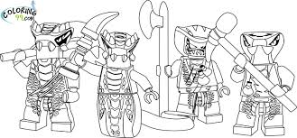 Small Picture Ninjago Bad Guys Coloring PagesBadPrintable Coloring Pages Free