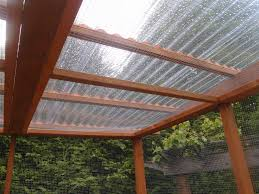 clear pvc roof panel