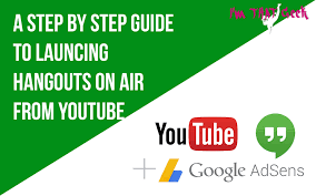Hangouts on air moved to YouTube Live here s what you need to do.