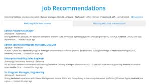 Jobs recommended based on the top skills found from your resume or job  description. Job listings are freshly called from Indeed.com:
