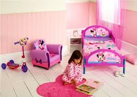 girly minnie mouse toddler bed set