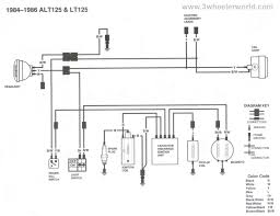 suzuki lt 125 engine diagram suzuki wiring diagrams
