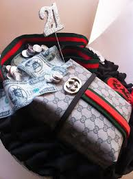 Iced Out Company Cakes The Gucci Man Bag Cake Wwwicedoutco