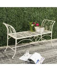 Summer Shopping Deals on Safavieh Outdoor Living Adina White Wrought