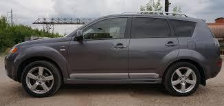 <b>Пороги боковые</b> Mitsubishi Outlander XL 2008-2013