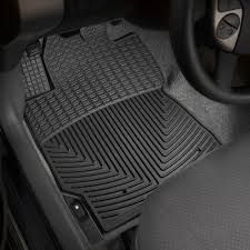 WeatherTech® W108 - All-Weather 1st Row Black Floor Mats