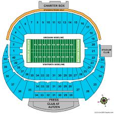 Autzen Stadium Seating Chart