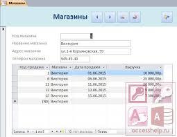 База данных access Поставки овощей и фруктов Базы данных access База данных access Поставки овощей и фруктов