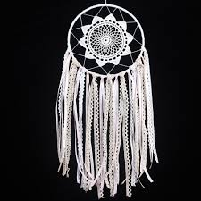 Dream Catcher Group Home Exclusive Design White Lace Dream Catcher Wind Chimes Indian Style 28