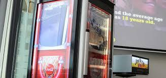 Coca Cola Interactive Vending Machine Unique CocaCola Amatil Boosts Beverage Sales With Interactive Vending Machines