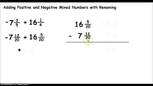 Adding And Subtracting Mixed Fractions Worksheets Math Like 320772 ...