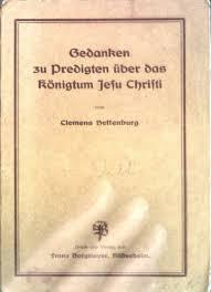 """Gedanken zu Predigten über das Kölnigtum Jesu Christi"""" (Clemens ..."""