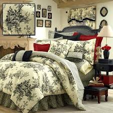 toille bedspreads comforter sets queen best bedding ideas on french country 2 blue toile bedspread uk