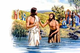 Image result for John the BAPTIST AT THE JORDAN RIVER