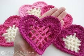 Crochet Heart Pattern Free Extraordinary Crochet Heart Motif Pattern Free Video Tutorial