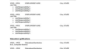 Sample Layout Of Resume Sample Format For Resume Sample Resume ...
