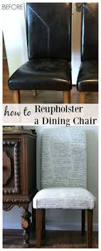 how to reupholster a dining chair straying from your usual type of project kitchen chair makeoverdining table