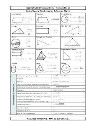 Math Formula Chart For Geometry Math Geometry App Paintingmississauga Com