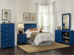 Brilliant Kith 179 Royal Blue 4 Pc Kids Twin Bedroom Set Twin Bed Set  Designs