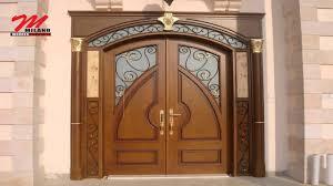 Entrance Door Design In India Indian House Main Double Door Designs Teak Wood See