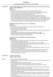 Sample Business Analyst Resume Business Analyst Reporting Analyst Resume Samples Velvet Jobs 18