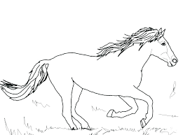 Coloring Horse Pictures Color Horse Coloring Pictures To Print For