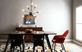 mid century modern design ideas dining room essentials sputnik chandelier living rooms