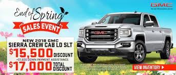 new 2018 gmc sierra crew cab ld slt 17000 total