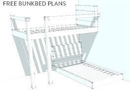 plans for a bunk bed laposadainfo