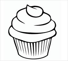 cupcakes drawing black and white.  Drawing Cupcake Black And White Cupcake Drawings Cupcakes Clipart Printable  Template Intended Cupcakes Drawing Black And White 0