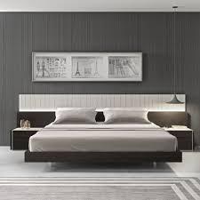 Led Bedroom Furniture Porto Modern Platform Bed Cadomoderncom