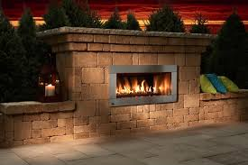 necessories contemporary fireplace kit regency hzo42 outdoor gas fireplace