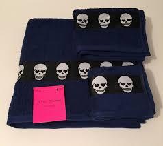 Skull Bathroom Decor Betsey Johnson Skull Bathroom Set