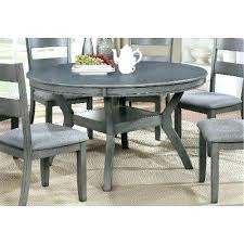 grey round table dining and chairs gray wash set ideas with leaf tablecloth pvc