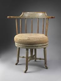 remarkable antique office chair. Robert Young Antiques Collection: Remarkable Gustavian Period Revolving Desk Chair. Turned And Carved Alder Wood, Retaining Much Original Paint. Antique Office Chair A