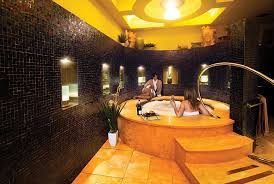 invite your besties to unwind with a hot soak and cold champagne in the luxurious experience