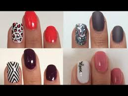 La tendencia de los diseños de uñas y la decoración de uñas en tus manos seguirá siendo una moda de belleza este año, que cada vez se hace mucho existen diferentes tipos de técnicas y maneras de pintarte las uñas pero una de las más fáciles para comenzar sin duda es la que te explico en este. 100 Ideas Nuevas Y Faciles De Nail Art Cien Unas Originales