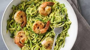 healthy food recipes.  Recipes Zucchini Noodles With Avocado Pesto And Healthy Food Recipes F