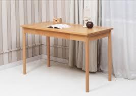 solid wood home office furniture office desk white oak natural finish modern luxury elegant computer desk