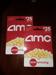 25 amc theatres gift card 1 of 1 see more