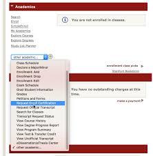 Enrollment Certification Registrars Office