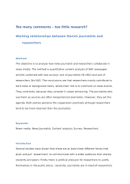 Journalism Quotes Classy PDF Making Science Newsworthy Exploring The Conventions Of Science