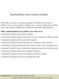 Resume Service Crew Free Resume Example And Writing Download