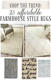 23 affordable farmhouse style rugs from this silly girls kitchen