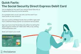 social security debit card
