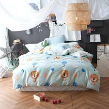 Kids Bed Quilts – co-nnect.me & ... Quilts And Coverlets Queen Size 4pcs Lion Duvet Cover Quilt Bed Sheet  Pillow Covers Kids Bedding ... Adamdwight.com