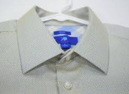 Egara Size Chart Details About Egara Mens Slim Fit Non Iron Dress Shirt Size Large Blue Yellow Weave