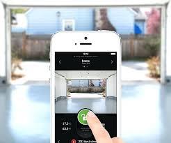 opening garage door with iphone app controlled garage door opener open garage door iphone