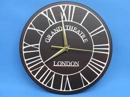 large wall clock london grand theatre