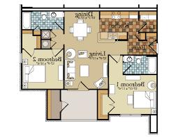 Small 2 Bedroom Floor Plans Home Design Single Floor Small House Designs Decor Qarmazi In 2
